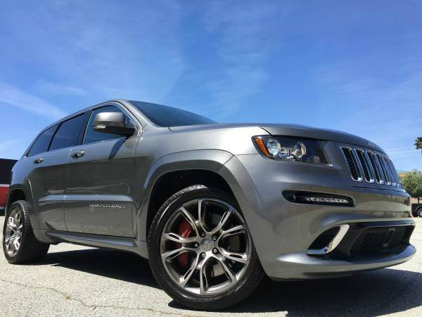 2012 JEEP GRAND CHEROKEE SRT8 4X4 4DR SUV gray 2-stage unlocking doors 4wd selector - manual hi-
