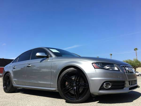 2011 AUDI S4 30TSUPERCHARGED gray 2-stage unlocking doors 4wd type - full time abs - 4-wheel