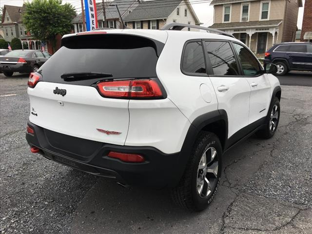 2015 Jeep Cherokee 4x4 Trailhawk 4dr SUV - Fogelsville PA
