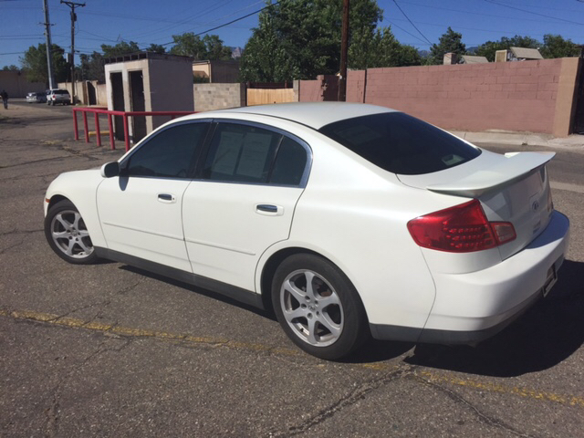 2003 Infiniti G35 Luxury 4dr Sedan w/Leather - Albuquerque NM