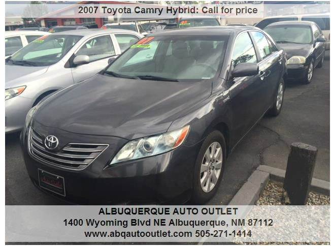 2007 Toyota Camry Hybrid Base 4dr Sedan - Albuquerque NM