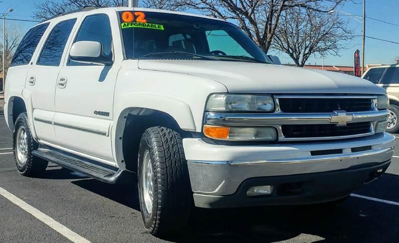 2002 Chevrolet Tahoe LT 4WD 4dr SUV - Albuquerque NM
