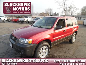 2007 Ford Escape for sale in Praire Du Chien, WI