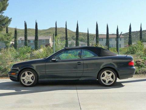 2001 Mercedes-Benz CLK
