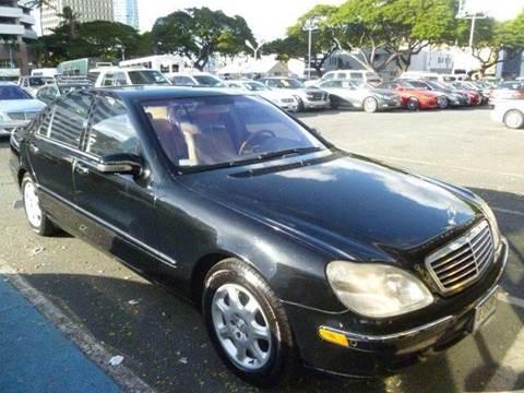 2002 Mercedes-Benz S-Class for sale in Honolulu HI