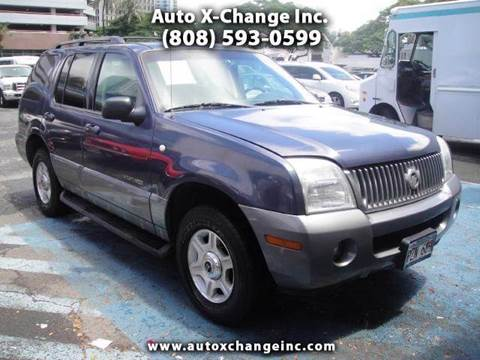 2002 Mercury Mountaineer for sale in Honolulu, HI