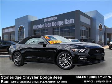 2017 Ford Mustang for sale in Dublin, CA