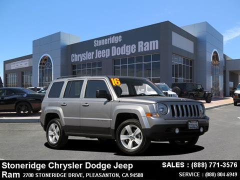 2016 Jeep Patriot for sale in Dublin, CA
