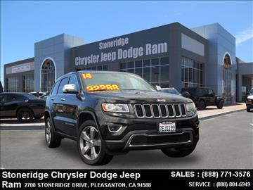 2014 Jeep Grand Cherokee for sale in Dublin, CA