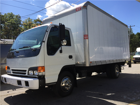 2004 Isuzu NPR  with lift for sale in Rehoboth, MA
