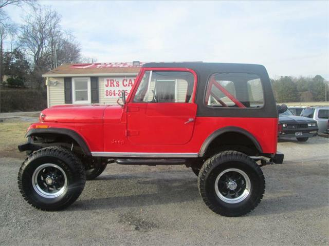 used jeep cj 7 for sale   carsforsale