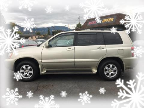 2001 Toyota Highlander for sale in Grants Pass, OR