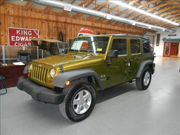 2007 Jeep Wrangler Unlimited for sale in Cartersville, GA