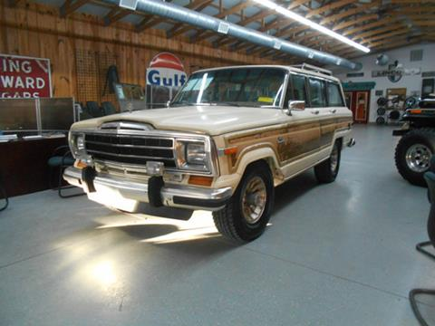 1986 Jeep Grand Wagoneer for sale in Cartersville, GA