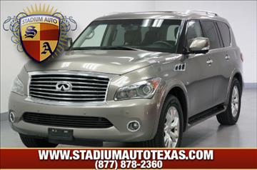 used 2014 infiniti qx80 for sale texas. Black Bedroom Furniture Sets. Home Design Ideas