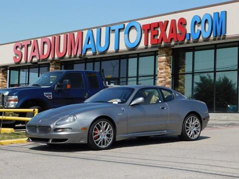 2006 Maserati GranSport for sale in Arlington, TX