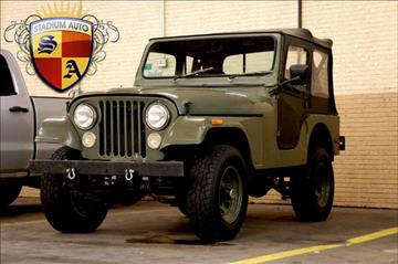 1977 Jeep CJ-5 for sale in Arlington, TX