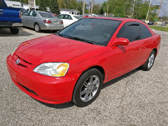 2003 Honda Civic EX 2dr Coupe w/Side Airbags - Mishawaka IN
