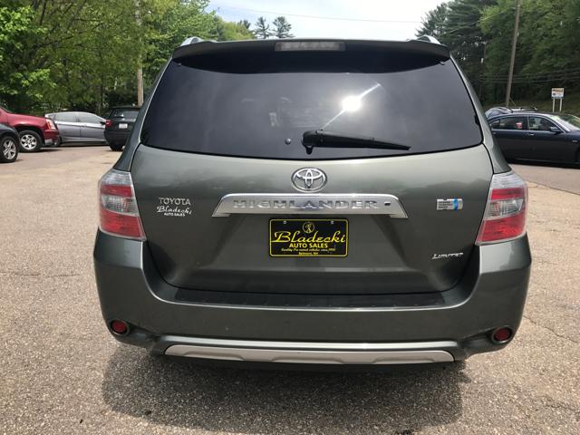 2008 Toyota Highlander Hybrid AWD Limited 4dr SUV - Belmont NH