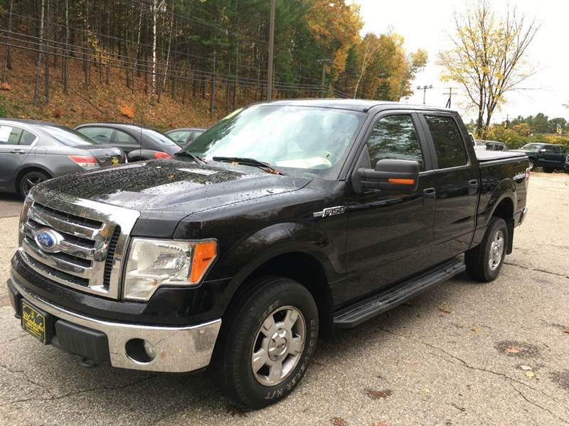 2009 Ford F-150 4x4 XLT 4dr SuperCrew Styleside 5.5 ft. SB - Belmont NH