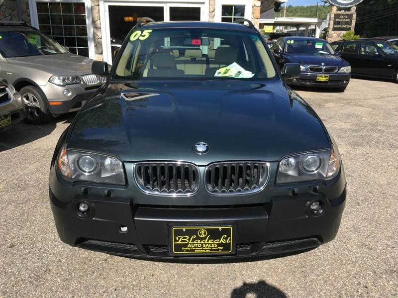 2005 BMW X3 AWD 3.0i 4dr SUV - Belmont NH