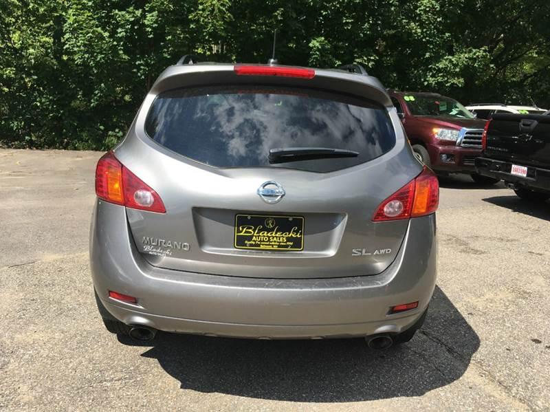 2010 Nissan Murano AWD SL 4dr SUV - Belmont NH