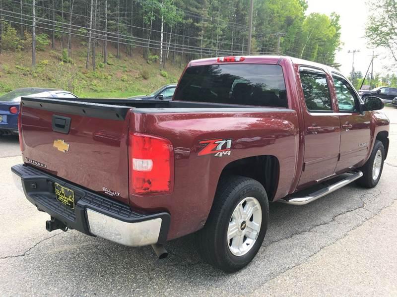 2013 Chevrolet Silverado 1500 4x4 LT 4dr Crew Cab 5.8 ft. SB - Belmont NH