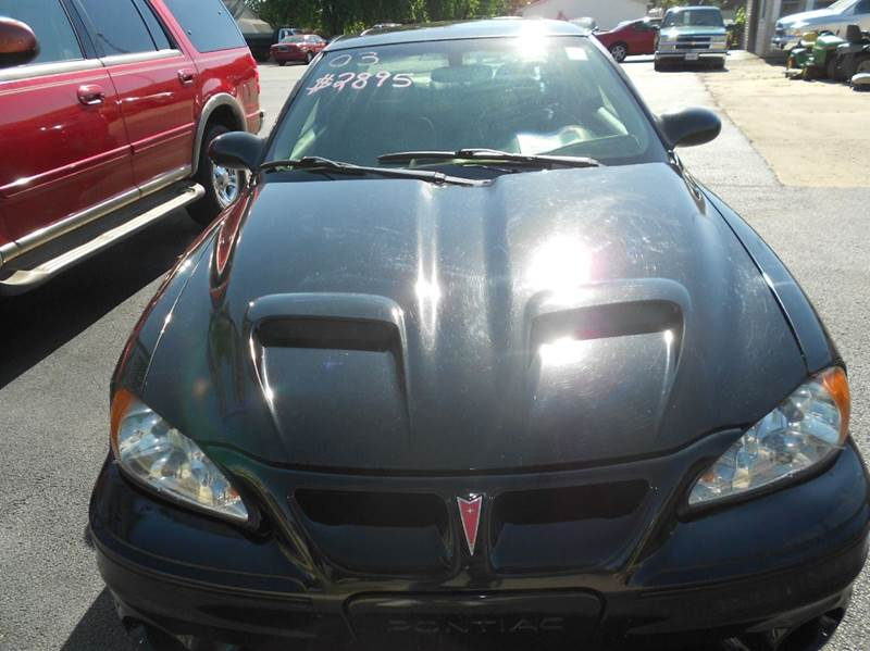 2003 Pontiac Grand Am GT 2dr Coupe - Mattoon IL