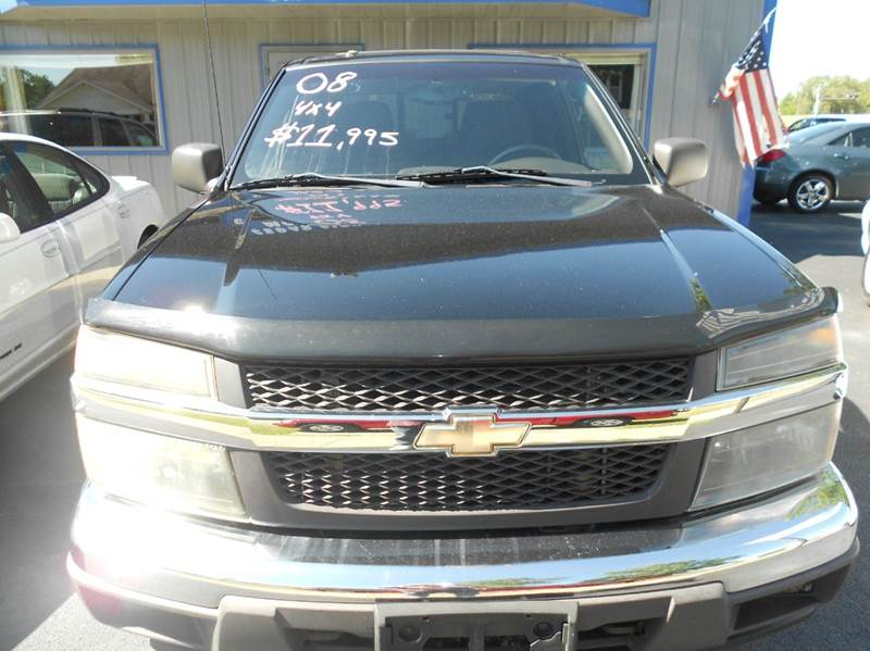 2008 Chevrolet Colorado 4x4 LT Crew Cab 4dr - Mattoon IL