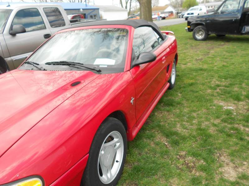 1996 Ford Mustang 2dr Convertible - Mattoon IL
