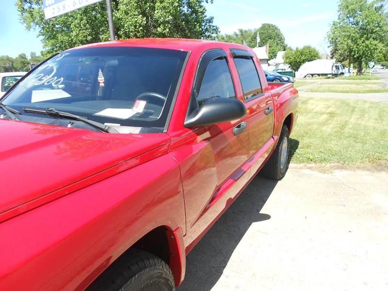 2008 Dodge Dakota SLT 4dr Crew Cab 4WD SB - Mattoon IL