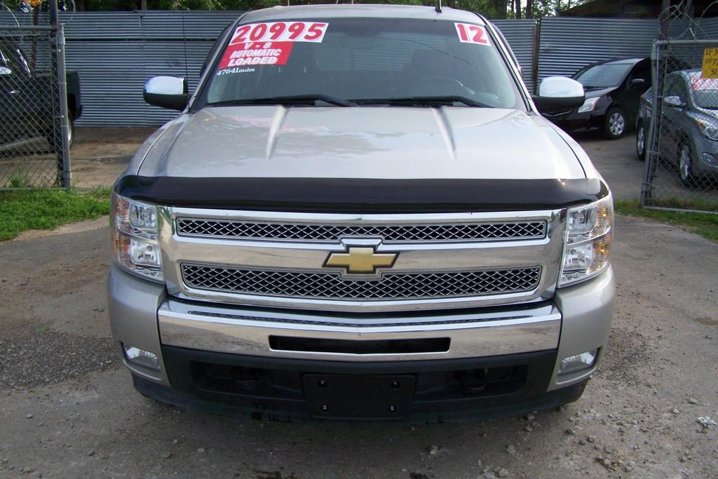 2012 Chevrolet Silverado 1500 LT 4x2 4dr Crew Cab 5.8 ft. SB - San Antonio TX