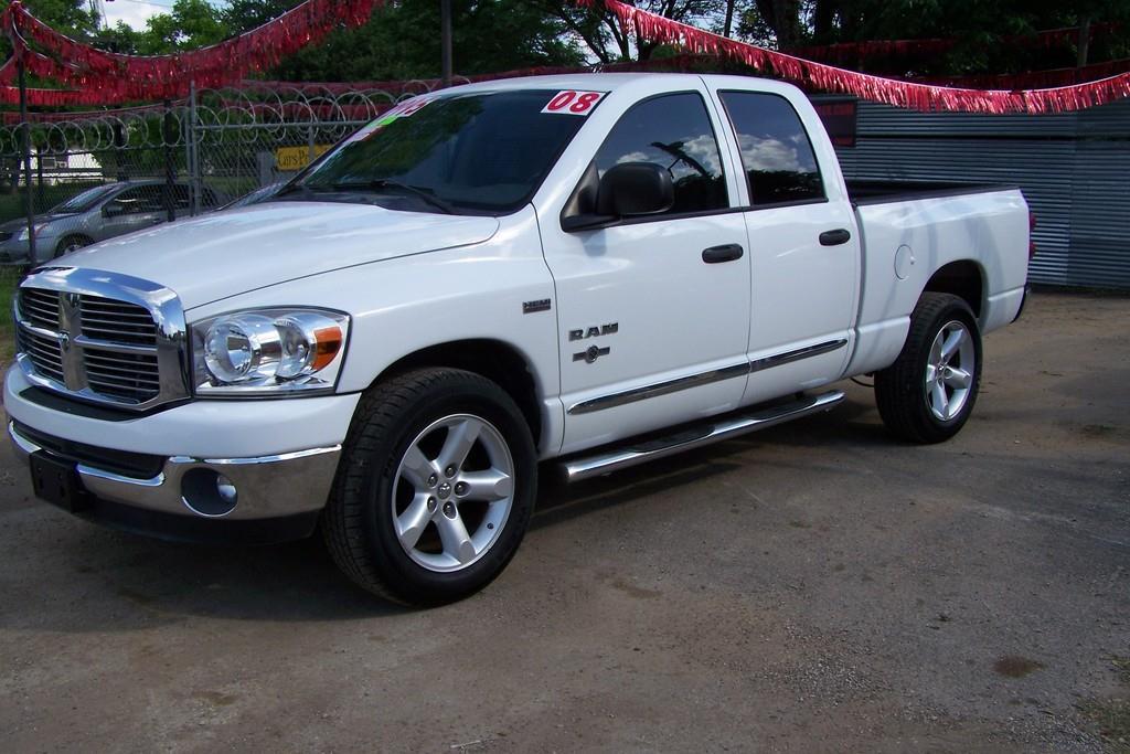 2008 dodge ram pickup 1500 sxt quad cab 2wd in san antonio tx chevyford motorplex. Black Bedroom Furniture Sets. Home Design Ideas