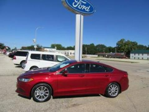 2017 Ford Fusion for sale in Emmetsburg, IA