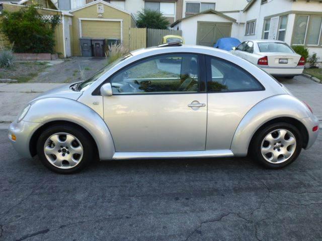2002 Volkswagen New Beetle 2dr GLS 1.8T Turbo Coupe - Altadena CA