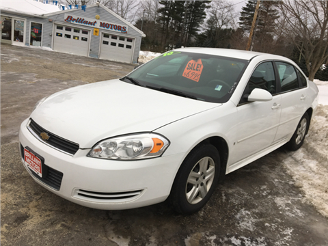 2010 Chevrolet Impala for sale in Topsham, ME