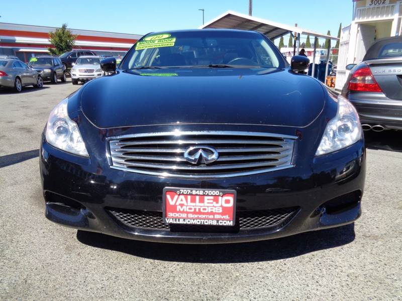 2009 Infiniti G37 Coupe Journey 2dr Coupe - Vallejo CA
