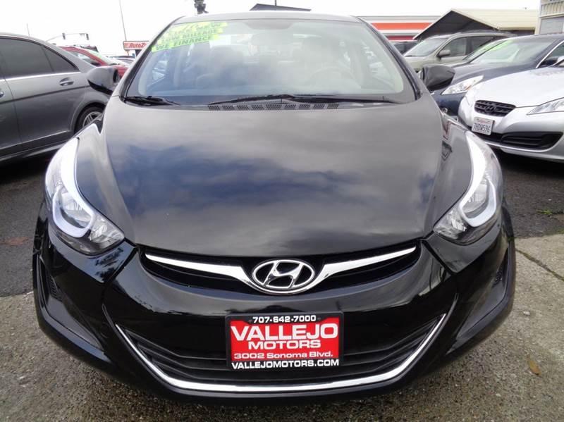 2016 Hyundai Elantra SE 4dr Sedan 6A - Vallejo CA