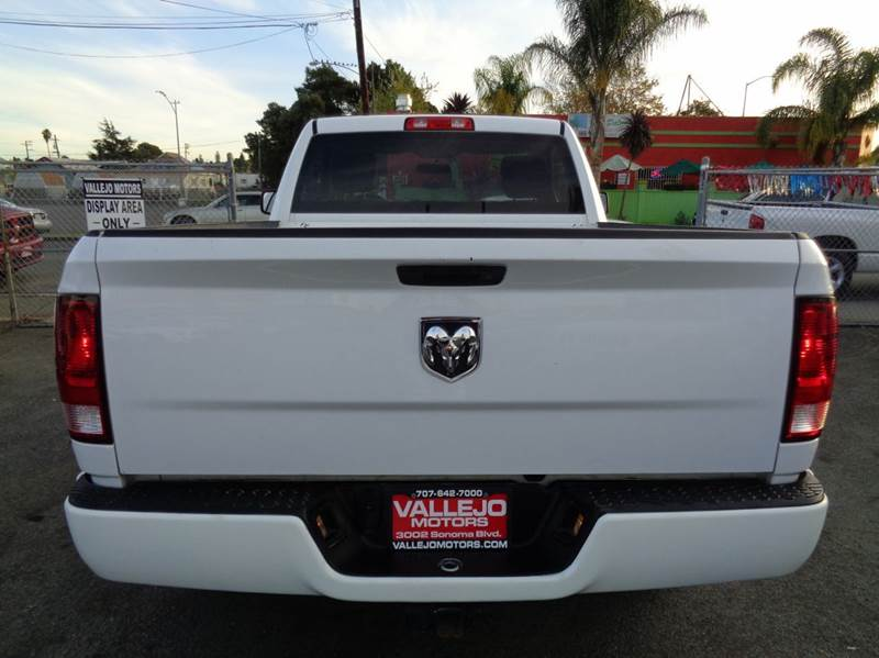 2011 RAM Ram Pickup 1500 4x2 SLT 2dr Regular Cab 6.3 ft. SB Pickup - Vallejo CA