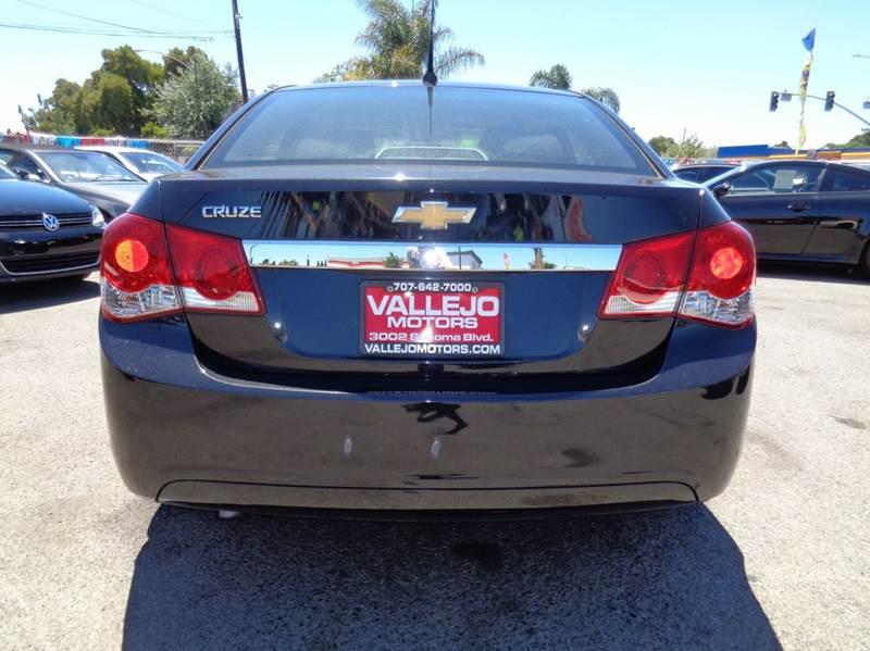 2012 Chevrolet Cruze LS 4dr Sedan - Vallejo CA