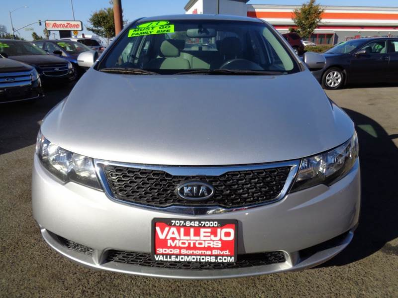 2013 Kia Forte Ex 4dr Sedan In Vallejo Ca Vallejo Motors