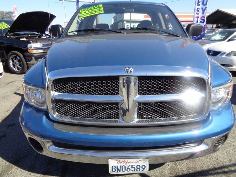 2005 Dodge Ram Pickup 1500 Slt 4dr Quad Cab Rwd Sb In