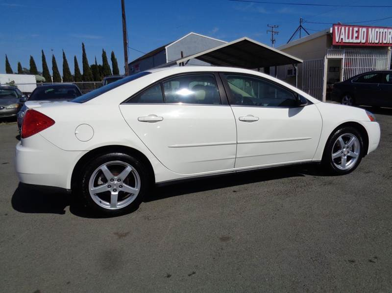 2005 Pontiac G6 Gt 4dr Sedan In Vallejo Ca Vallejo Motors