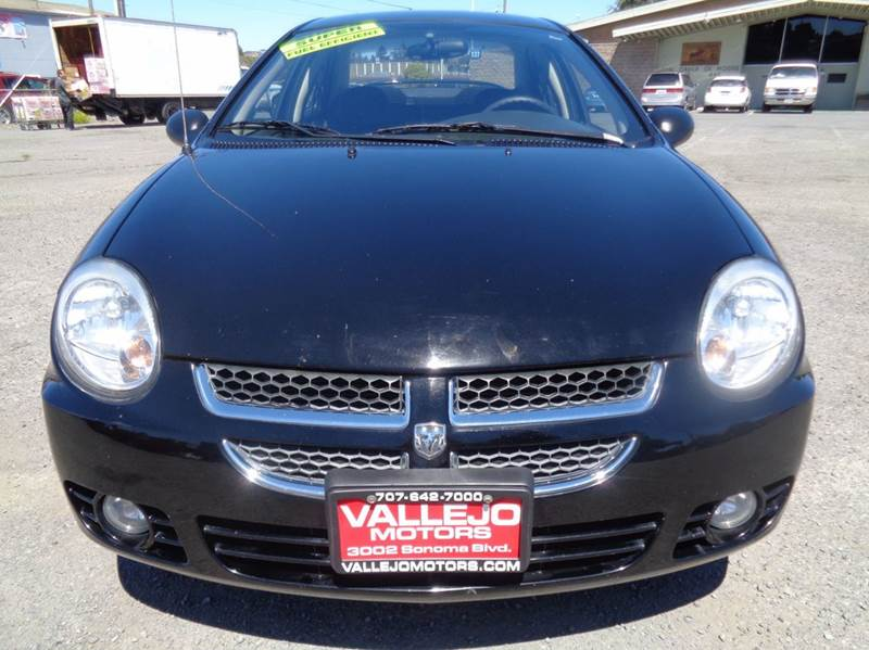 2005 Dodge Neon Sxt 4dr Sedan In Vallejo Ca Vallejo Motors