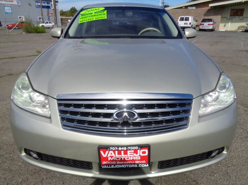 2007 Infiniti M35 Base 4dr Sedan In Vallejo Ca Vallejo