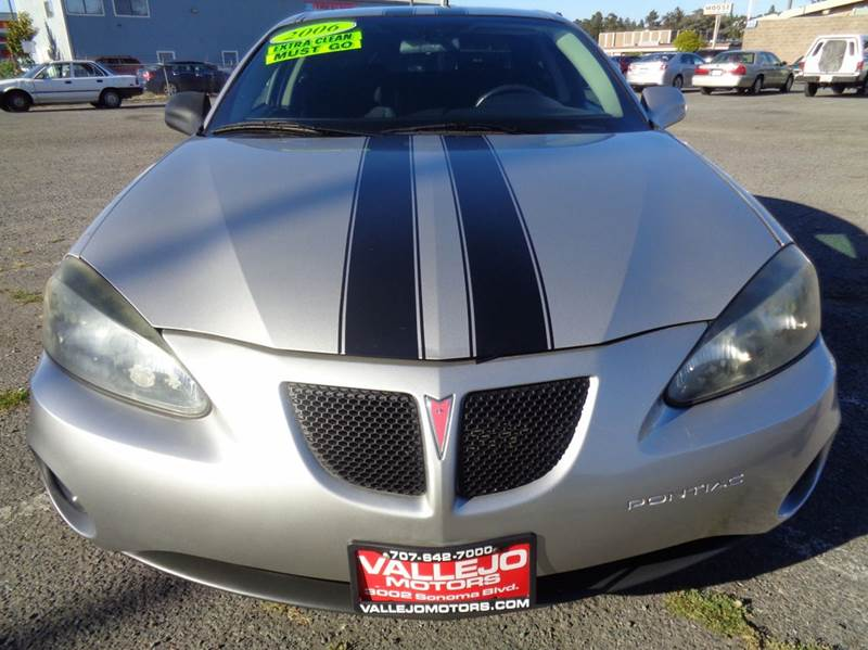 2006 Pontiac Grand Prix Base 4dr Sedan In Vallejo Ca