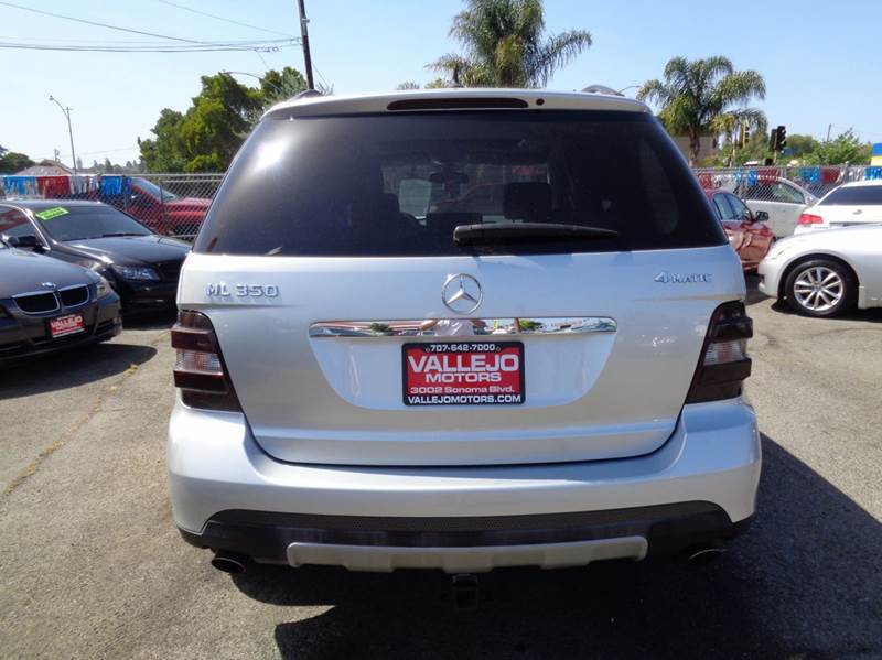 2006 Mercedes-Benz M-Class ML350 AWD 4MATIC 4dr SUV - Vallejo CA
