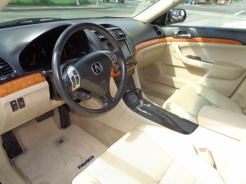 2005 Acura TSX Base w/Navi 4dr Sedan w/Navi - Vallejo CA