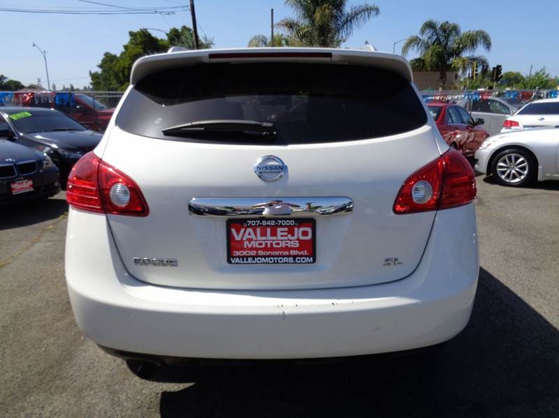 2013 Nissan Rogue SV w/SL Package 4dr Crossover - Vallejo CA