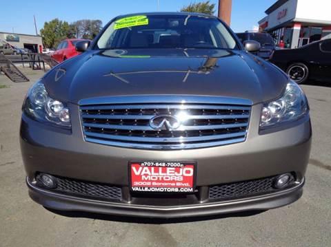 2007 Infiniti M45 for sale in Vallejo, CA
